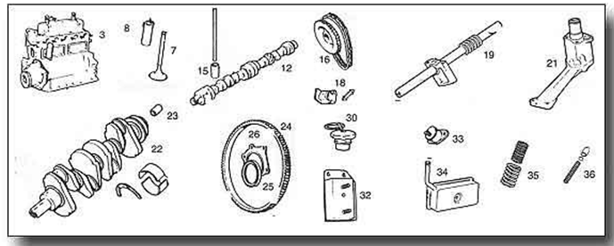MGB Engine