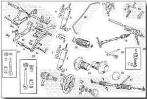 MGC Front Suspension