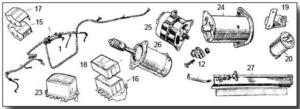 Midget Electrics & Wiring Loom
