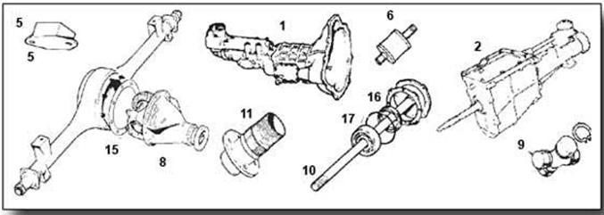 Midget Gearbox & Back Axle