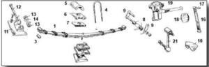 Midget Rear Suspension