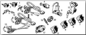 Midget Switches & Horns
